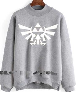 Unisex Crewneck Legend Of Zelda Sweater Logo Design Clothfusion