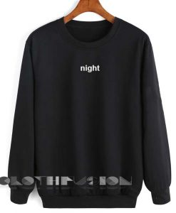Unisex Crewneck Night Sweater Logo Design Clothfusion