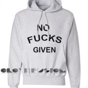 No Fucks Given Hoodie Unisex Premium Clothing Design