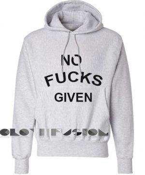 No Fucks Given Hoodie Unisex Premium Clothing Design