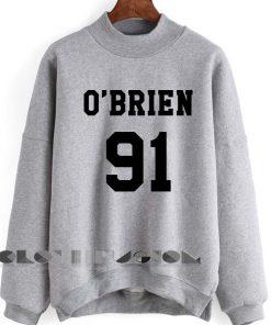 Unisex Crewneck O'Brien 91 Sweater Design Logo Clothfusion