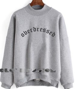 Unisex Crewneck Sweatshirt Overdressed Design Clothfusion