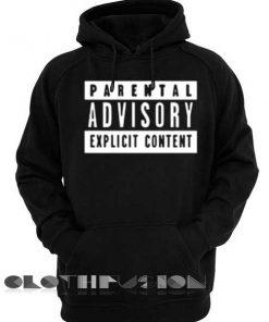 Parental Advisory Hoodie Logo Unisex Premium Clothing Design