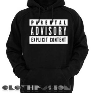 Parental Advisory Hoodie Logo Unisex Premium Clothing Design