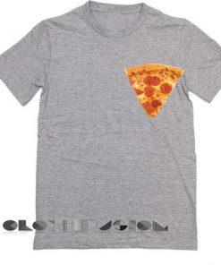 Unisex Premium Pizza Slice T shirt Design Clothfusion
