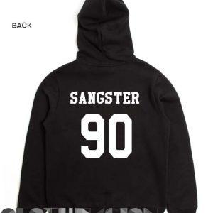Sangster 90 Hoodie Logo Unisex Premium Clothing Design