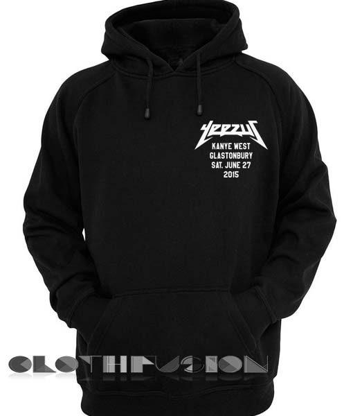 Yeesuz kanye west Glastonbury tour Hoodie Unisex Premium Clothing Design