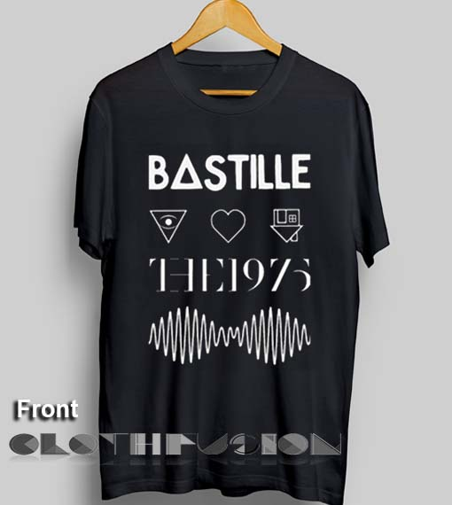 027e18bcf Unisex Premium Bastille The 1975 Arctic Monkeys The Neighbourhood T shirt  Design