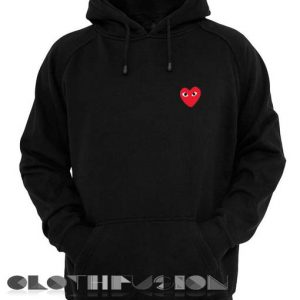 Comme Des Garcons Hoodie Red Unisex Premium Clothing Design