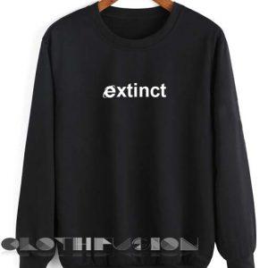 Unisex Crewneck Extinct Sweater Design Clothfusion