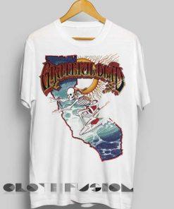 Unisex Premium Grateful Dead T shirt Design Clothfusion