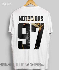 Unisex Premium Notorious 97 T shirt Design Clothfusion