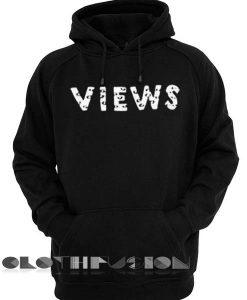 Views Logo Drake Hoodie Red Unisex Premium Clothing Design