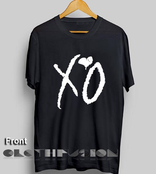 8b955c991a7 Unisex Premium Xo The weeknd T shirt Design Clothfusion