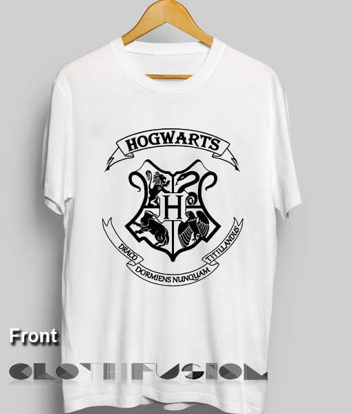 2940523ca Harry Potter Quotes T Shirts Hogwarts Logo Design Clothfusion
