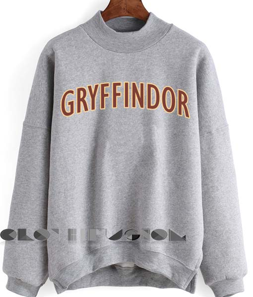 Harry Potter Quotes T Shirts And Sweatshirt Gryffindor Logo Unisex Premium Sweater