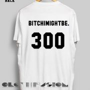 Feminist T Shirt Bitchimightbe 300 Women's sale & outlet t-shirts