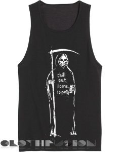 Spring Outfits Tank Top Grim Reaper