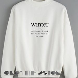 Ugly Style Winter Definition Sweatshirt – Adult Unisex Size S-3XL