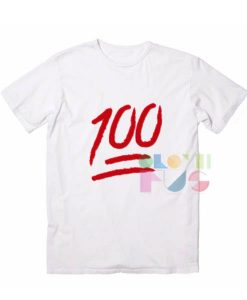 100 Emoji Apparel Screen Printing – Adult Unisex Size S-3XL
