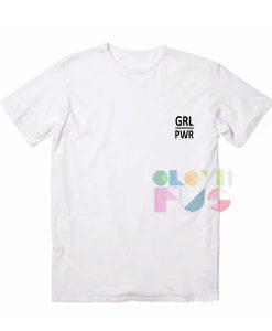 Grl Pwr Little Logo Apparel Screen Printing – Adult Unisex Size S-3XL