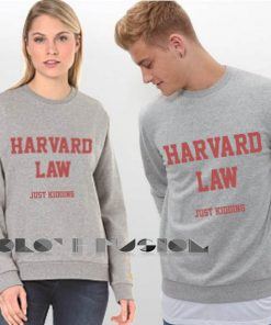 Ugly Style Harvard Law Sweatshirt – Adult Unisex Size S-3XL