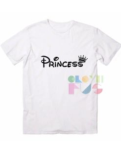 Princess Logo Apparel Screen Printing – Adult Unisex Size S-3XL