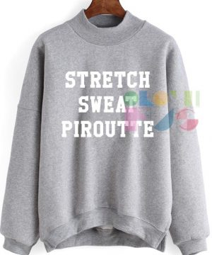 Stretch Sweat Pirouette Ugly Style Sweatshirt – Adult Unisex Size S-3XL