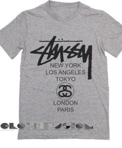 Stussy Logo T Shirt – Adult Unisex Size S-3XL