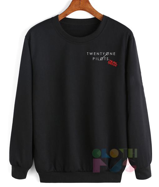 Twenty One Pilots Emotional Roadshow Sweatshirt – Adult Unisex Size S-3XL