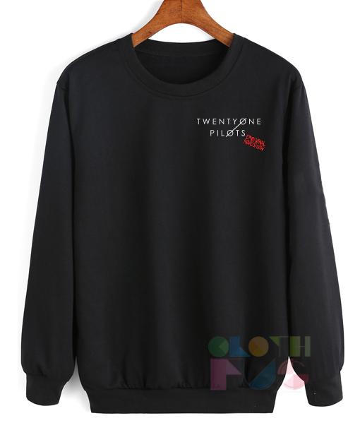 Twenty One Pilots Emotional Roadshow Sweatshirt – Adult Unisex Size S-3XL