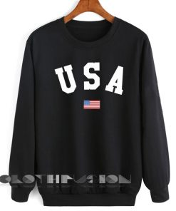 Womens Sweater Sale U S A and Flag Outfit Of The Day - OOTD