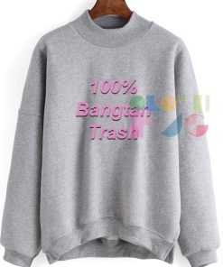 Womens Sweater Sale 100% Bangtan Trash Outfit Of The Day - OOTD