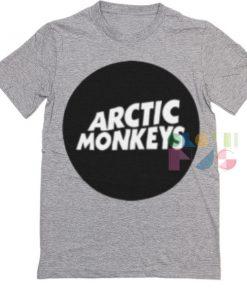 Arctic Monkeys Logo Band T Shirt – Adult Unisex Size S-3XL