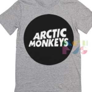 Arctic Monkeys Logo Band T Shirt – Adult Unisex Size S-3XL