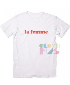 La Femme Apparel Screen Printing – Adult Unisex Size S-3XL
