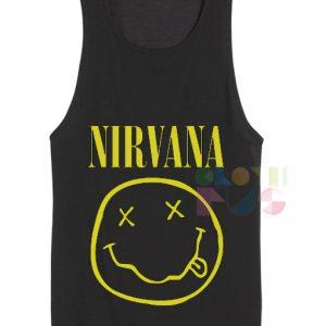 Nirvana Logo Band Tanktop – Adult Unisex Size S-3XL
