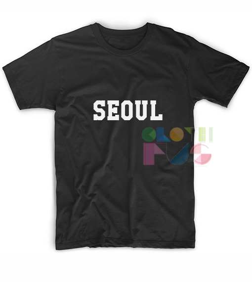 Seoul Apparel Screen Printing – Adult Unisex Size S-3XL