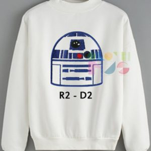 Star Wars R2 D2 Sweatshirt – Adult Unisex Size S-3XL