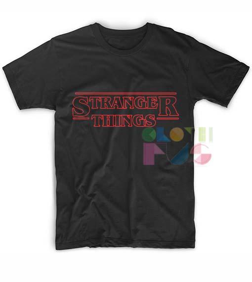 Stranger Things Custom T Shirts No Minimum Adult Unisex