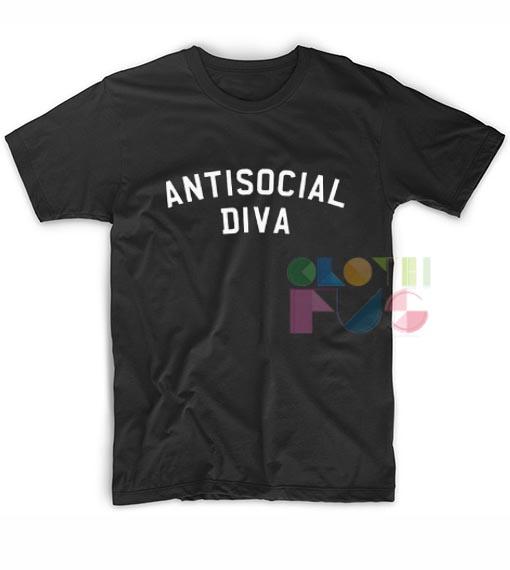 Antisocial Diva T-shirt