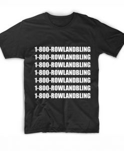1800 Hunter Rowland Bling Tshirts