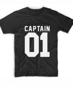 Captain 01 Tshirts