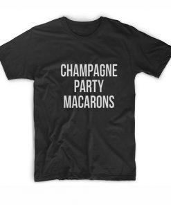 Champagne Party Macarons Tshirts