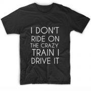 Crazy Train Customized Shirts