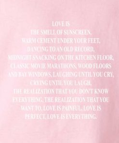 788dbeb3b Love is the Smell of Sunscreen Customized Shirts Custom T Shirts