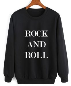 Rock And Roll Sweater Sweatshirt