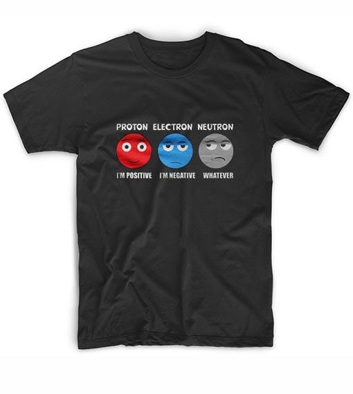 Funny Atom Science Geek Gifts Geek T Shirts Clothfusion