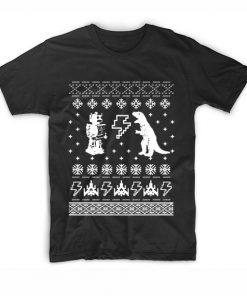 Geeky Ugly Christmas T Shirt