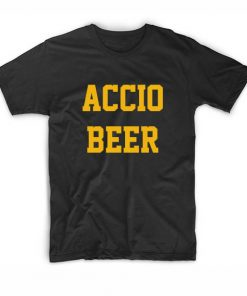 Harry Potter Accio Beer Wizard T-Shirts